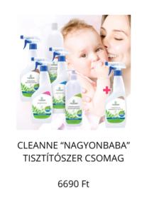 nagyonbaba természetes tisztítószer csomag