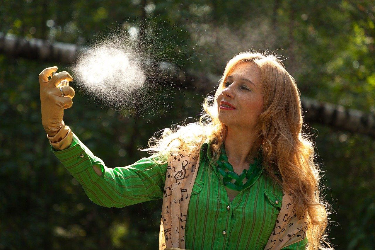 locsolókölni, parfüm házilag