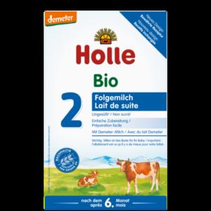 Holle bio 2 tejalapú csecsemő tápszer 600g