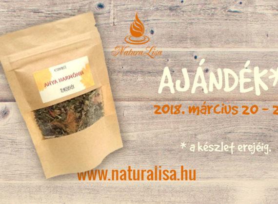 naturalisa ajándék anya harmónia tea