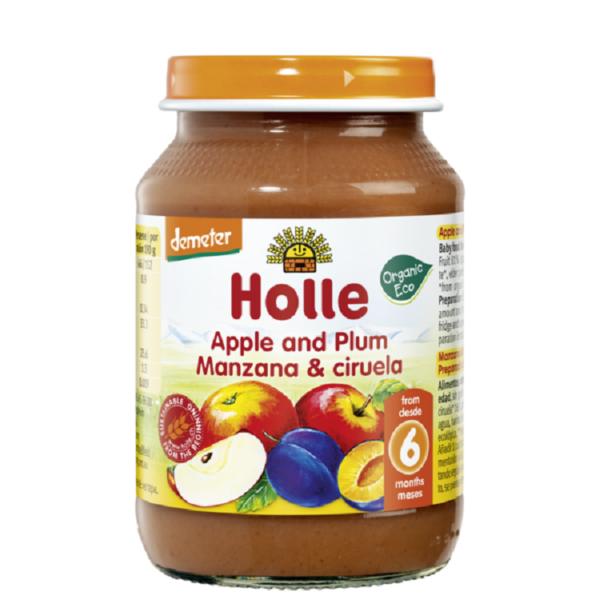 Holle bio bebietel alma szilvaval 190g