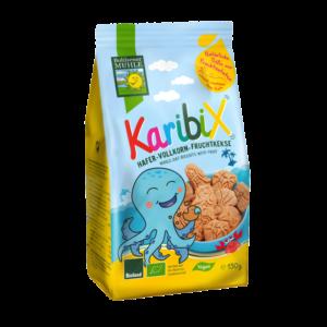 Bohlsener Mühle Bio Karibix-tönköly gyümölcsös gyerek keksz 150g