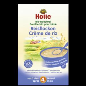 Holle bio rizspehely rizskása rizspép babakása 250g