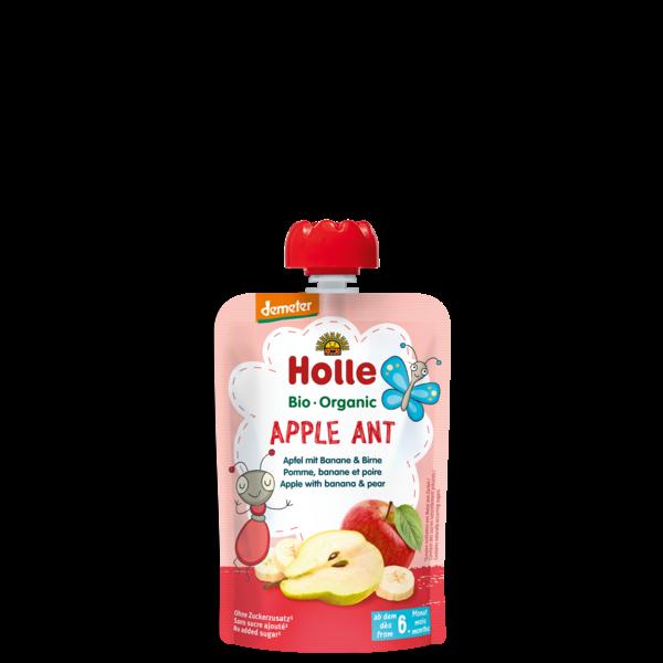 Holle_apple_ant_bio_gyumolcspure_bebiete_alma_banan_korte_100g