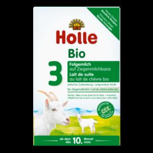 Holle Bio Kecsketej alapú 3-as csecsemőtápszer 400g