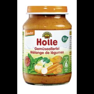 Holle_bio_üveges_bébiétel_ vegyes_zöldségek_6_hónapos_kortól_190g