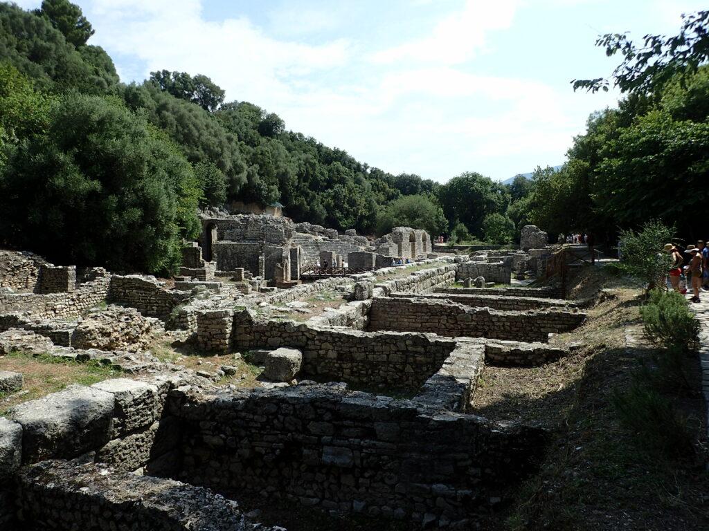 Butrint-romváros-albánia