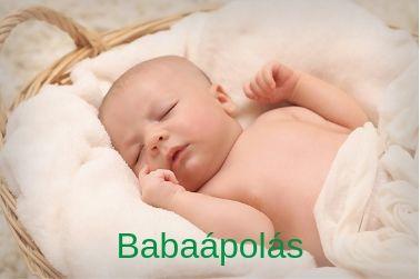babaápolás - természetes babakozmetikumok újszülött kortól