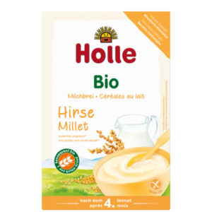 Holle bio tejkása köleskása gluténmentes cukormentes 750
