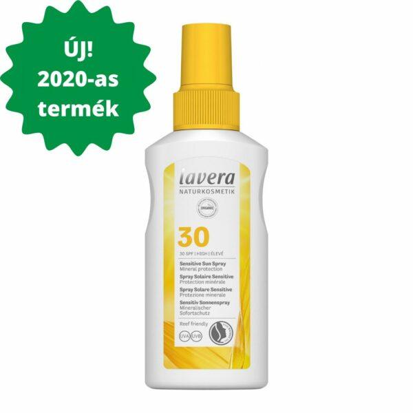 Lavera SUN_napvédő spray spf30 sensitive érzékeny, napallergiás bőrre