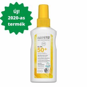Lavera SUN_napvédő spray spf50 gyerekeknek napallergiás bőrre