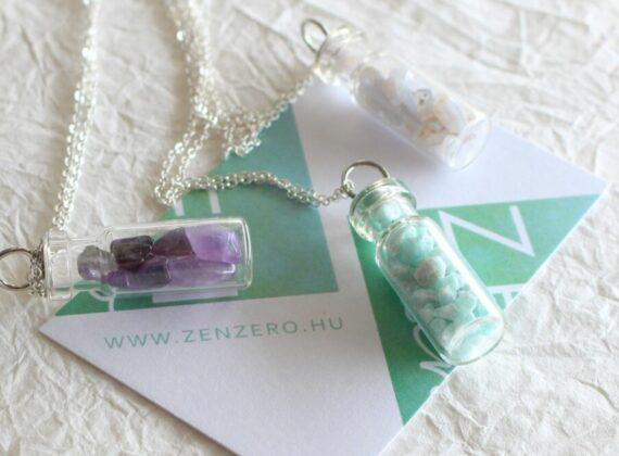 zenzero ásvány amulett