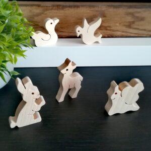 fa állatka kézségfejlesztő játék