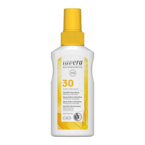 Lavera-SUN_napvédő-spray-spf30-sensitive-érzékeny-napallergiás-bőrre